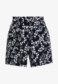 s.Oliver - HOSE KURZ - Shorts - navy bouquet - 3