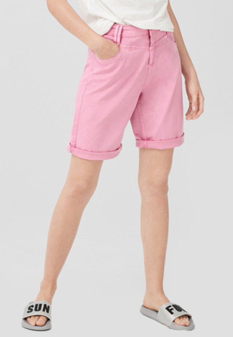 s.Oliver - KURZ - Shorts - light pink