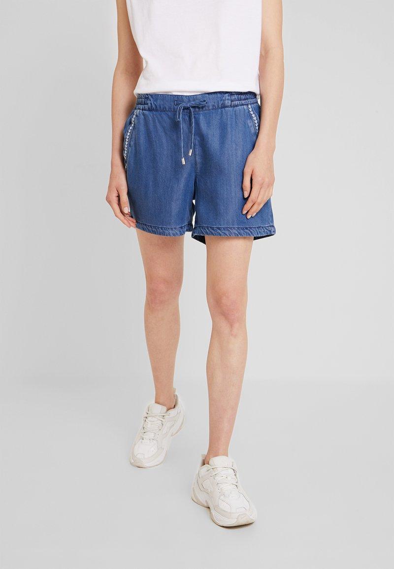 s.Oliver - SMART - Shorts - blue denim