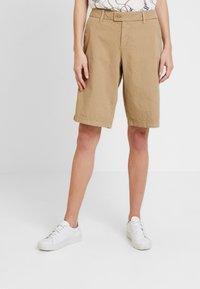 s.Oliver - Shorts - sand - 0