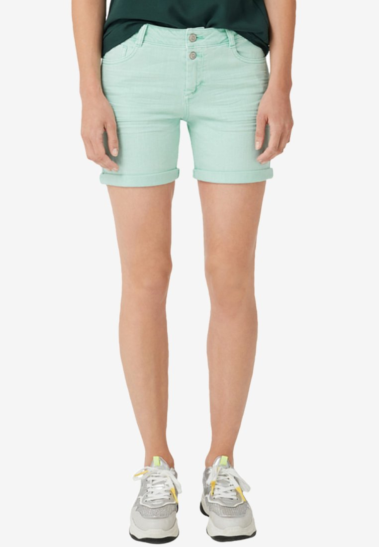 s.Oliver - Jeans Shorts - peppermint