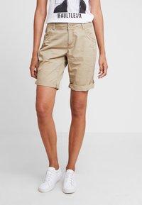 s.Oliver - Shorts - beige - 0