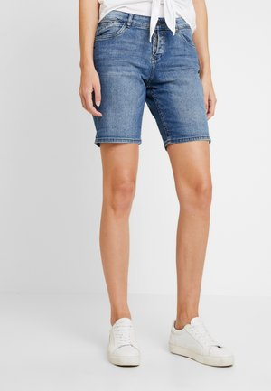 SMART - Szorty jeansowe - blue denim stretch