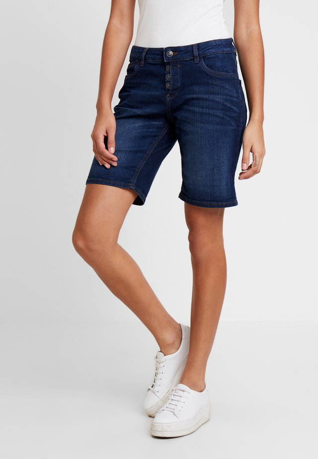 SMART - Jeans Shorts - eclipseblue denim