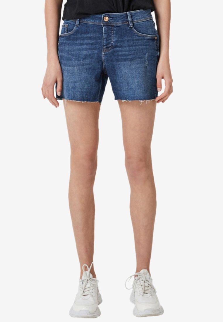 s.Oliver - Jeans Shorts - dark blue denim