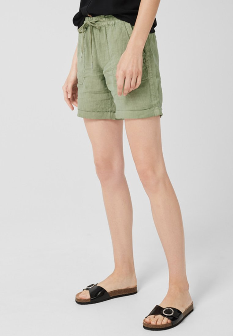 s.Oliver - Shorts - dark green