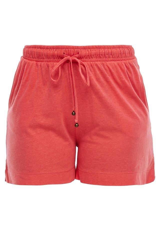 KURZ - Shorts - coral