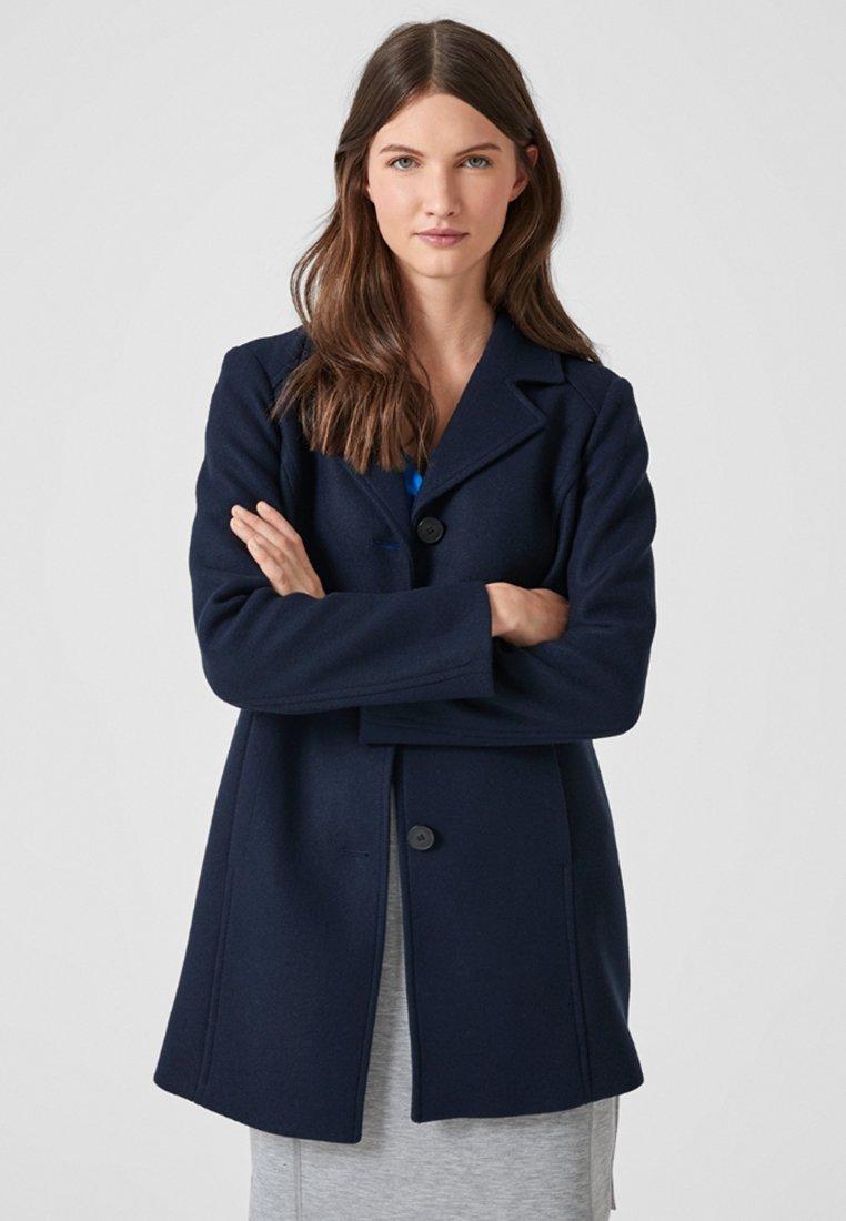 s.Oliver - Short coat - navy melange