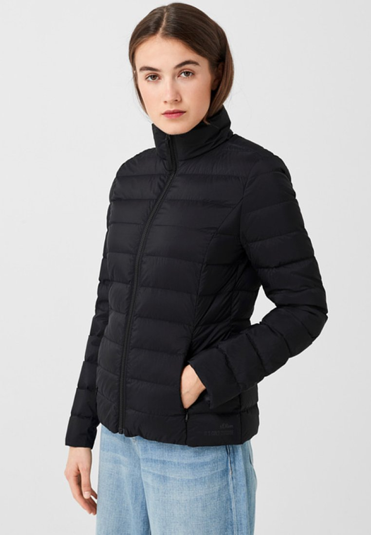 s.Oliver - OUTDOOR - Down jacket - black