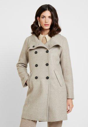 Manteau classique - brown melange
