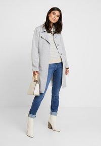 s.Oliver - Classic coat - grey melange - 1
