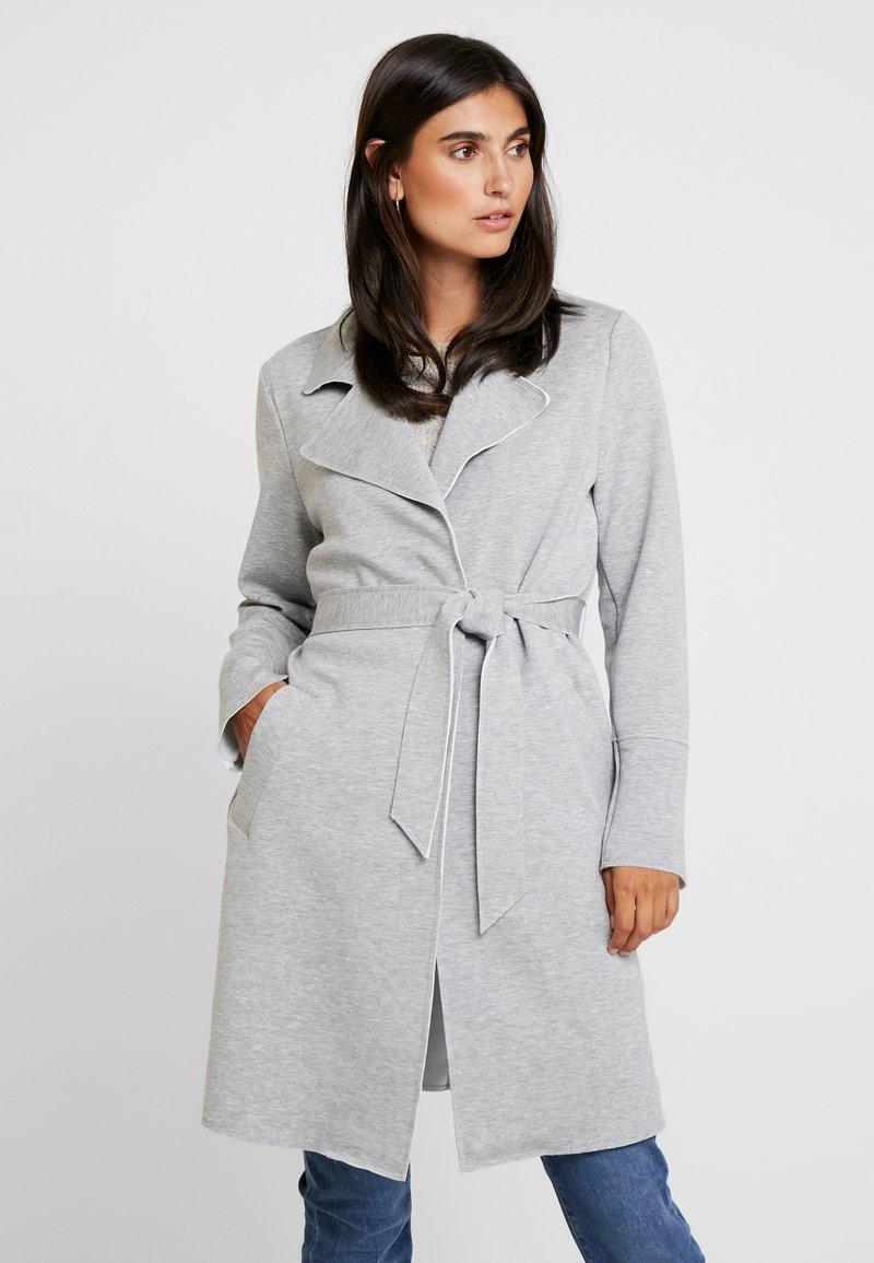 s.Oliver - Classic coat - grey melange