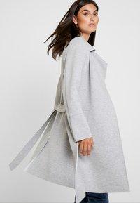 s.Oliver - Classic coat - grey melange - 3