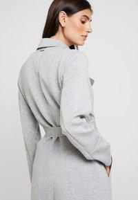s.Oliver - Classic coat - grey melange - 4