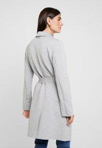 s.Oliver - Classic coat - grey melange - 2