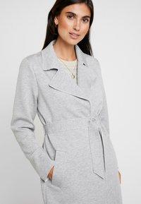 s.Oliver - Classic coat - grey melange - 6