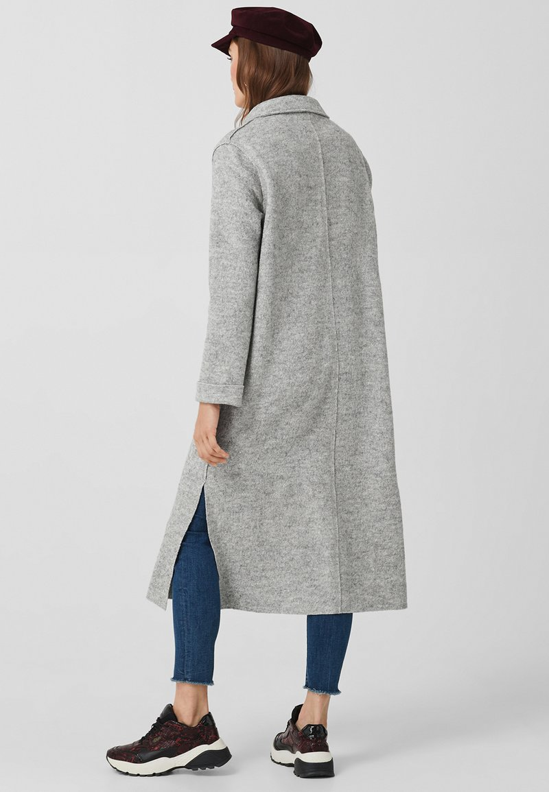 s.Oliver - Wollmantel/klassischer Mantel - grey