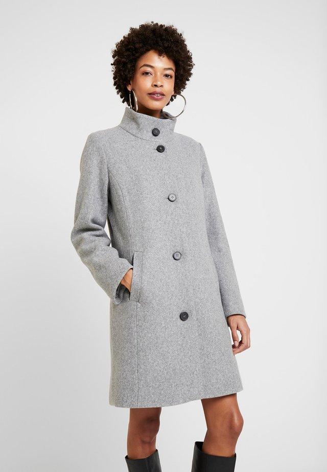 Krótki płaszcz - grey melange