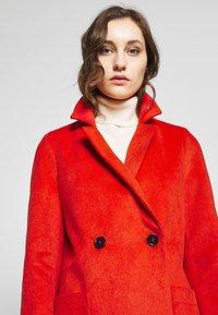 s.Oliver - LANGARM - Płaszcz wełniany /Płaszcz klasyczny - red - 4