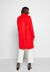 s.Oliver - LANGARM - Płaszcz wełniany /Płaszcz klasyczny - red - 2