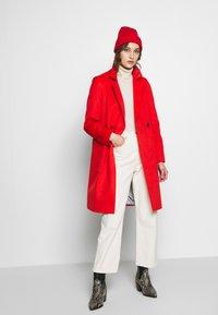 s.Oliver - LANGARM - Płaszcz wełniany /Płaszcz klasyczny - red - 1