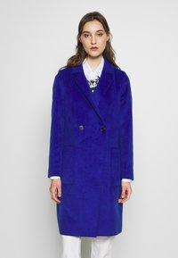 s.Oliver - LANGARM - Classic coat - glory blue - 0