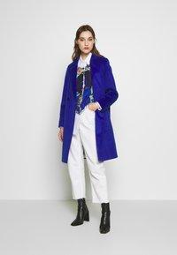 s.Oliver - LANGARM - Classic coat - glory blue - 1