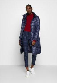 s.Oliver - LANGARM - Zimní kabát - blue - 1
