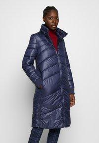 s.Oliver - LANGARM - Zimní kabát - blue - 0
