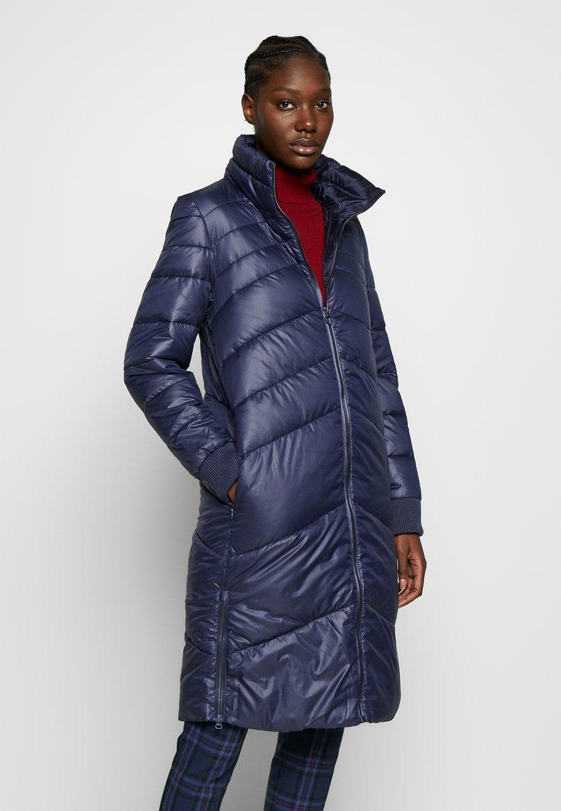 s.Oliver - LANGARM - Zimní kabát - blue