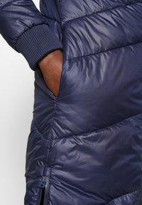 s.Oliver - LANGARM - Zimní kabát - blue - 5