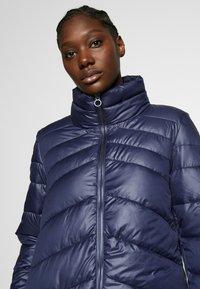 s.Oliver - LANGARM - Zimní kabát - blue - 3