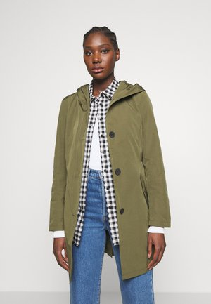 Trench - moss olive