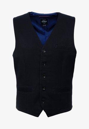 Waistcoat - storm blue