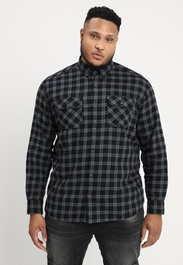 REGULAR FIT - Overhemd - black