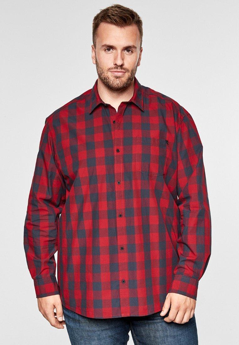 s.Oliver - VICHYKARO - Shirt - uniform red