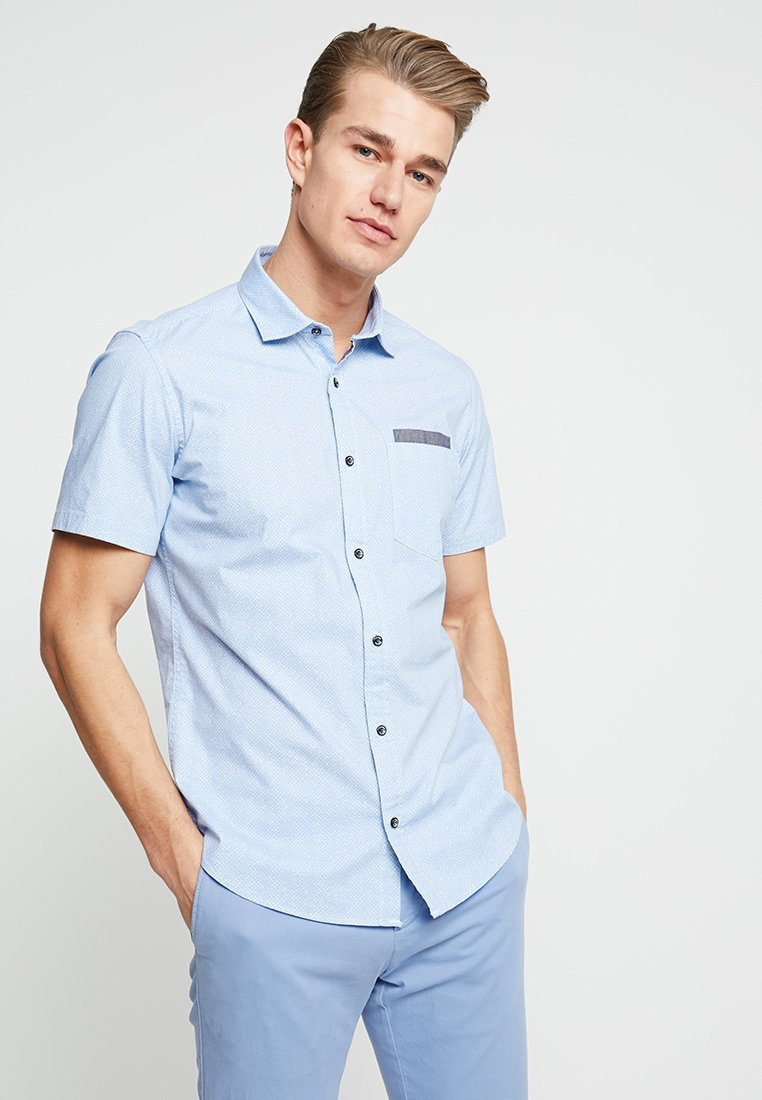 s.Oliver - SLIM FIT  - Shirt - beau blue