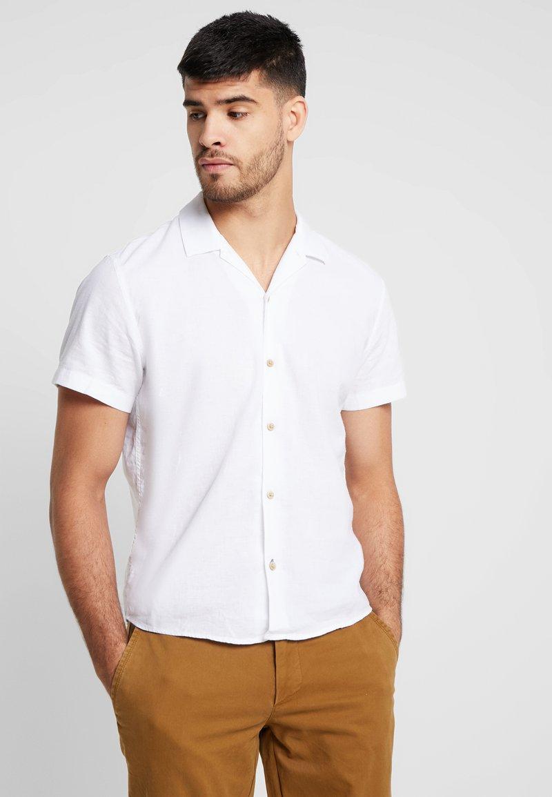 s.Oliver - KURZARM - Hemd - white