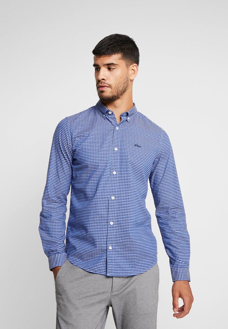 s.Oliver - SLIM FIT  - Skjorta - brillant blue