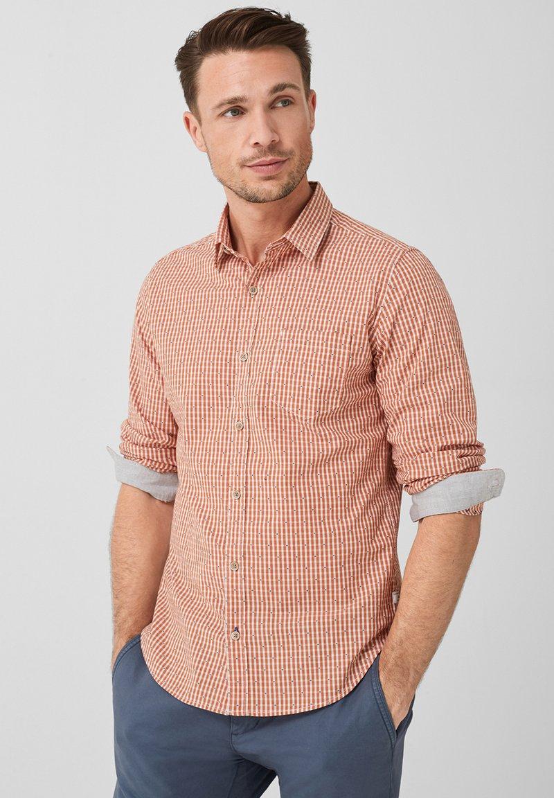 s.Oliver - SLIM FIT - Shirt - orange