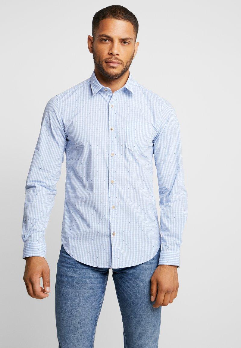 s.Oliver - SLIM FIT - Camisa - holiday blue