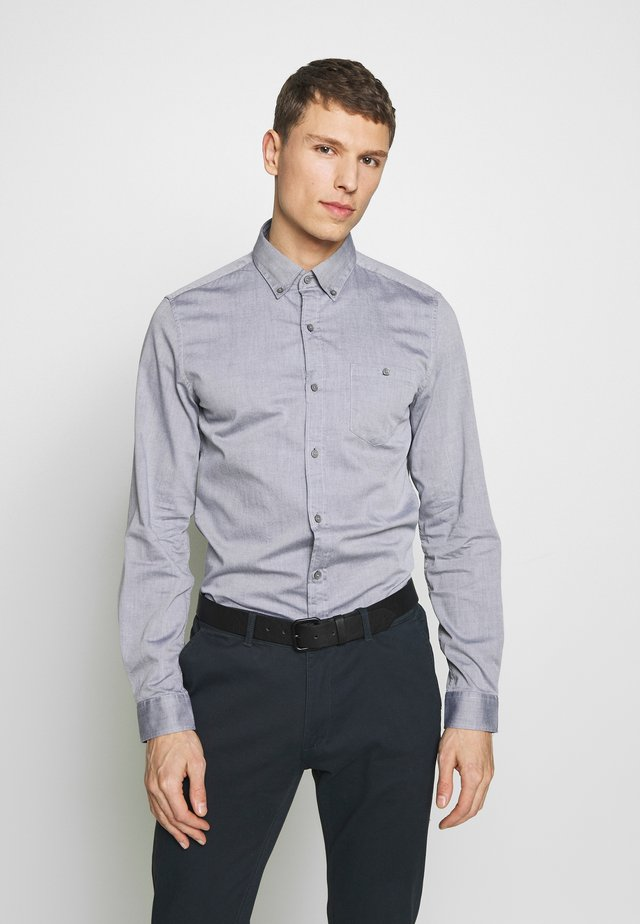 Košile - grey/blue