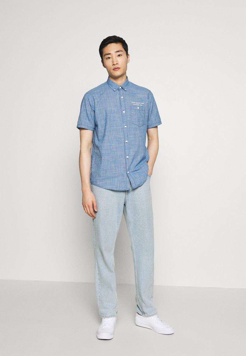 s.Oliver KURZARM - Skjorte - blue