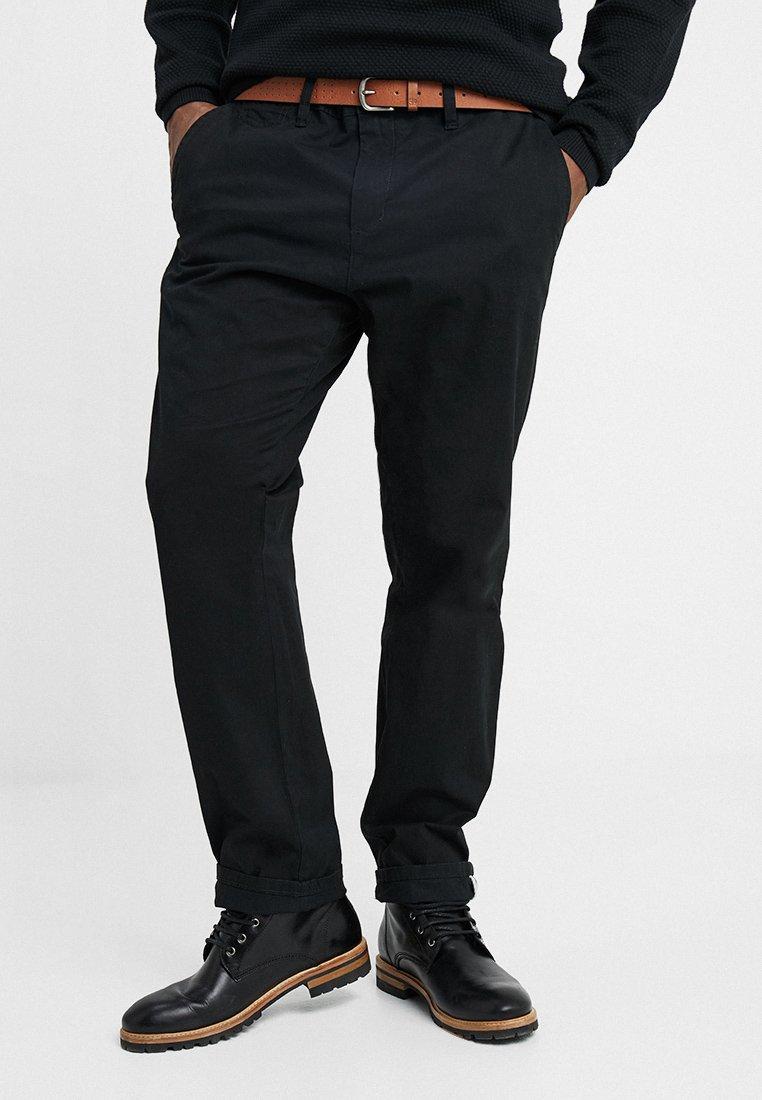 s.Oliver - RELAXED - Pantalon classique - black