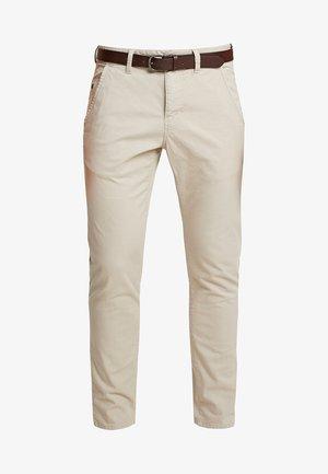 SLIM - Trousers - classic khaki