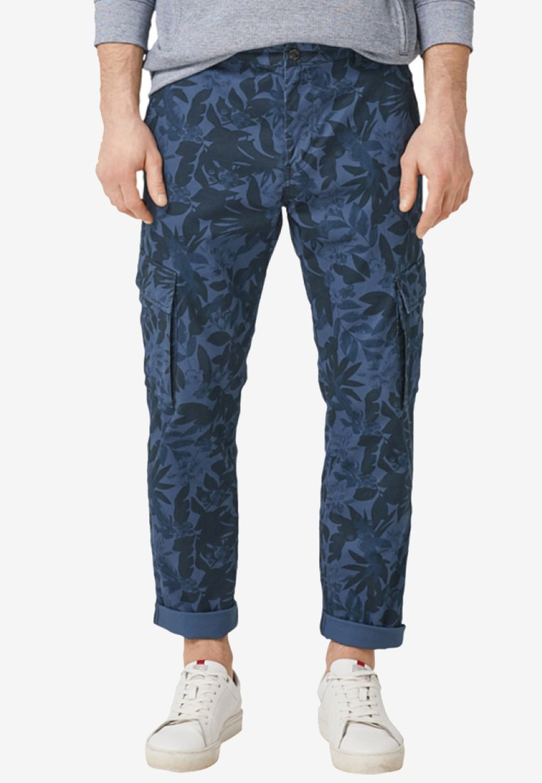 s.Oliver - TUBX REGULAR - Cargo trousers - midnight