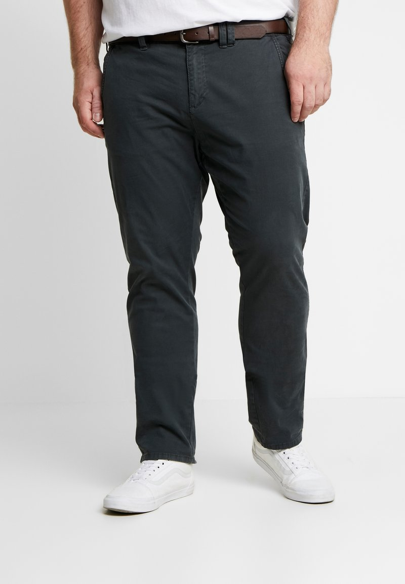 s.Oliver - HOSE REGULAR - Chino - charcoal