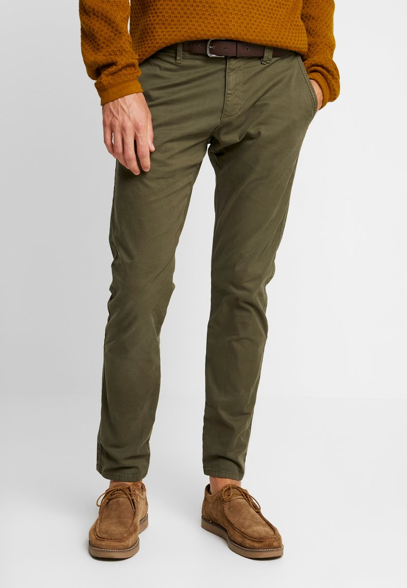 s.Oliver - Chino - olive disguise