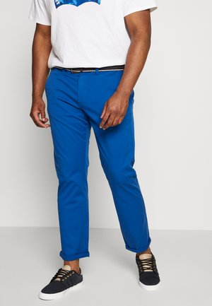 Chinos - steel blue