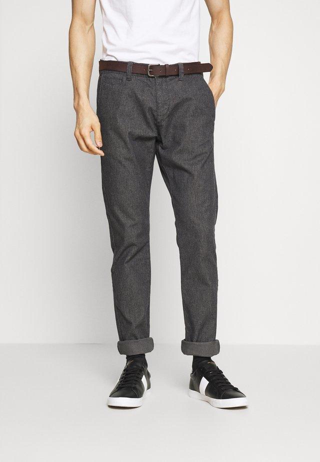 Broek - grey/black